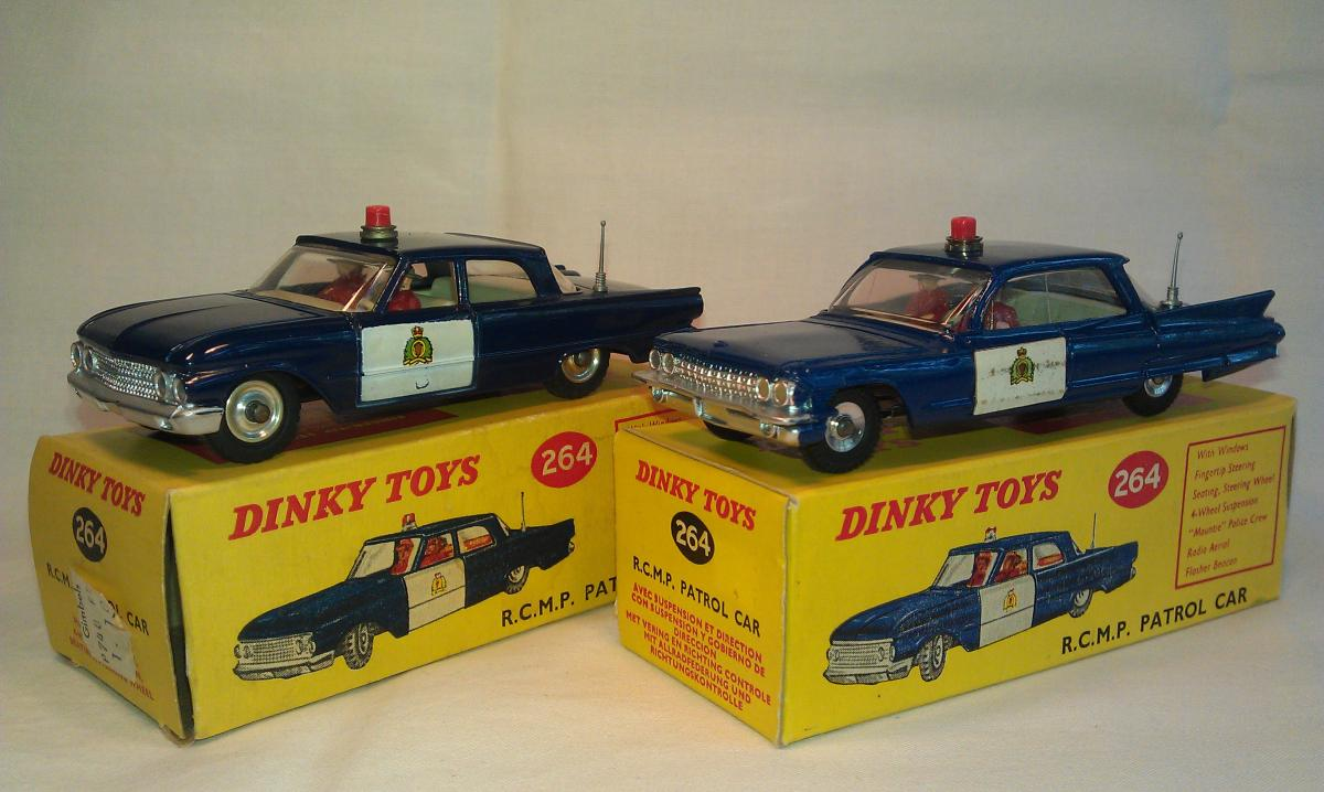 264 Rcmp Patrol Car Ford Fairlane 1962 65 And 1970 Police Top