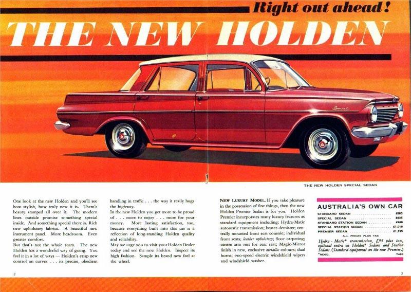 196 Holden Special Sedan (1963-70) | DTCA Website