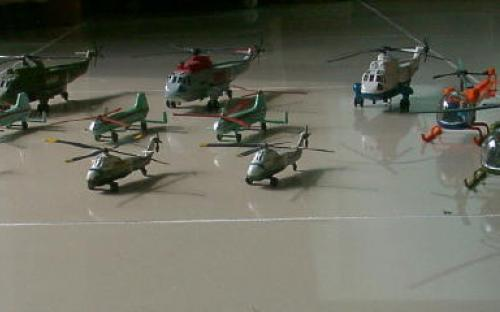 My Helicopter fleet