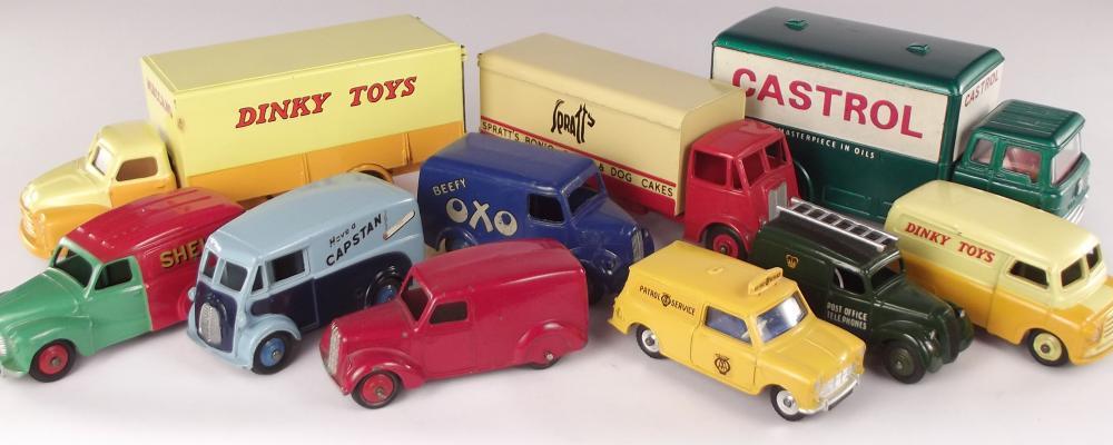 Dinky Toys - Vans