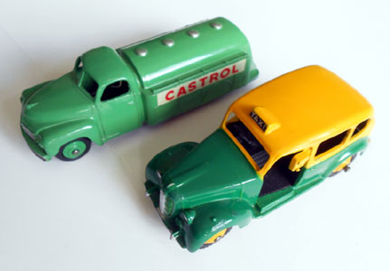 Dinky Toys Club Cars and Trucks